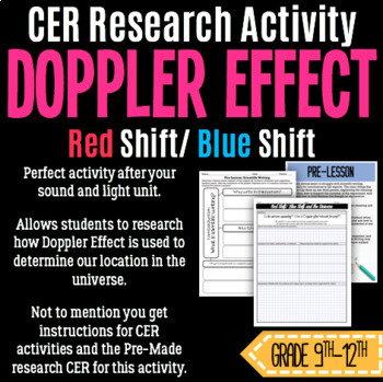 Red Shift/ Blue Shift and the Doppler Effect- CER