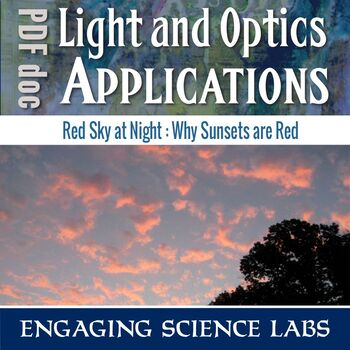 Red Sky at Night--A Science Experiment on Light for Middle School