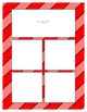 Red Sorting Mat Frames * Create Your Own Dream Classroom / Daycare *