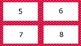 Red Spotty Times Tables Flash Cards Answers