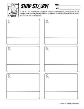 Red-Tailed Hawk -- 15 Resources -- Leveled Reading, Slides & Activities