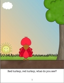 Red Turkey Red Turkey What Do You See Book