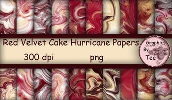 Red Velvet Cake Hurricane Papers