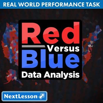BUNDLE - Performance Tasks - Data Analysis - Red Versus Blue