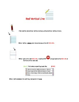 Red Vertical Line (notebook paper)