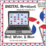 Digital Breakout Escape Room - Red, White, & Blue
