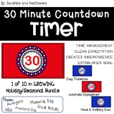 Red, White, & Blue Countdown Timer