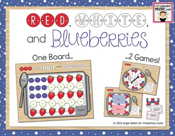 Red, White, & Blueberries - Two Games in One! - Rhythm Pie
