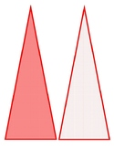 Red & White Carnival/Circus Theme Pennant