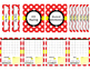 Red & White Teacher Binder 16/17 (Covers, Spines, Forms &
