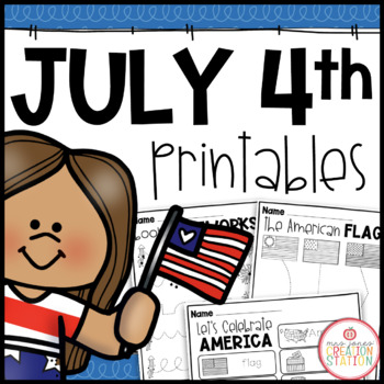 Red, White and Blue: A Fourth of July Freebie Pack