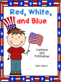 Red, White, and Blue, Centers and Printables, 2nd Grade