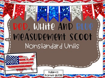 Red, White and Blue Measurement Scoot