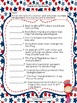 Red, White, and Blue Reading Street Reading Comprehension Activity Pack