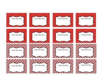 Red, White, and Blue Teacher Toolbox Template - Editable