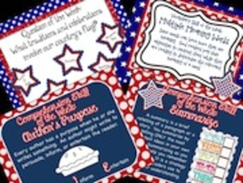 2nd Grade Reading Street Red, White, and Blue:  The Story of the American Flag