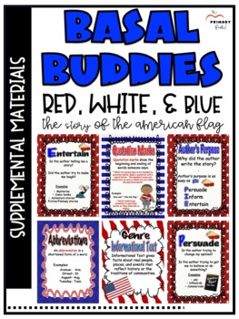 Red, White, and Blue: The Story of the American Flag -Reading Street (2013)