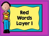 Red Words Layer 1