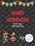 Red Words - Word Wall Set