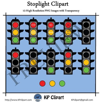 Red Yellow Green Stoplight Clipart