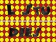 Red, Yellow and Black Patterned Subject Titles