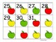 Red, Yellow, and Green Apple Calendar Collection