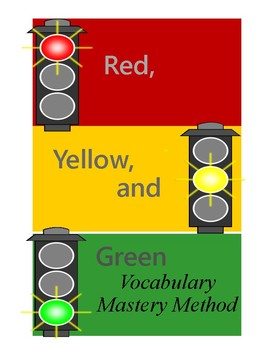 Red, Yellow, and Green Vocabulary Strategy
