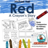 Red, a Crayon's Story | Reader Response Pages | Printables | Book Companion