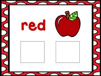Red-an interactive color book