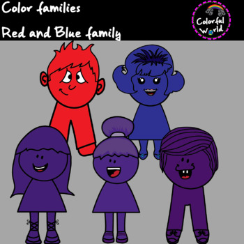 Red and Blue Family