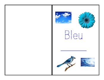 Red and Blue French Workbooks