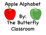 Red and Green Apple Alphabet