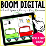 Red and Green Choices Bus SEL - Boom Cards Distance Learning