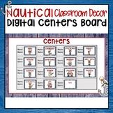 NAUTICAL CLASSROOM DECOR DIGITAL CENTER ROTATIONS CHART