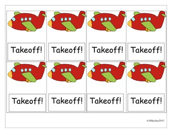 Takeoff! A Sight Word Game: Fry List 1-100