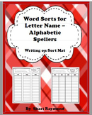 Red and Yellow Writing Sorts Bundle