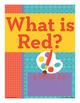 Red - ed Word Family Poem of the Week - Short Vowel E Fluency Poem