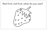 Red fruit, red fruit, what do you see? Nutrition Book