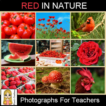 Red in Nature Photograph Pack