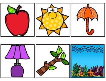 Red is an Apple (A Pocket Chart Activity)
