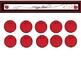 Red/Black Teacher Binder and Calendar Set *Editable