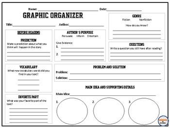 Redaing Graphic Organizer