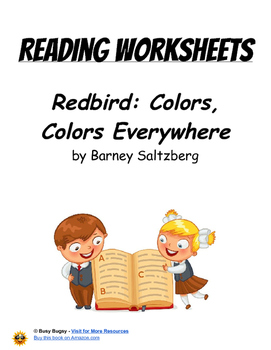 Redbird: Colors, Colors Everywhere by Barney Saltzberg  Reading Worksheets