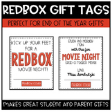 Redbox Gift Certificate Tags (Editable with 3 Styles)
