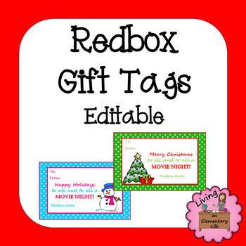 Redbox Gift Teaching Resources | Teachers Pay Teachers