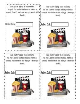 Redbox Promo Code Tag