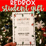 Redbox Student Gift Template