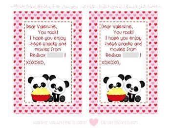 Redbox Valentine's Day Cards Freebie