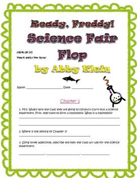 Reddy Freddy Science Fair Flop Comprehension Questions