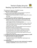 Redefining Reading Logs with the Reading Log Cabin {Common